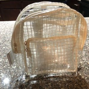 0ed992a29306 Urban Outfitters Bags - Urban Outfutters NWT Mini clear Grid Backpack